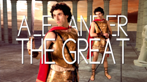 Alexander the Great Title Card