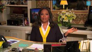 Oprah Winfrey's Chicago Office (on Ellen)