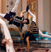 Catherine the Great's Backup Dancers Cameo