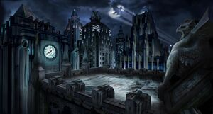 Gotham City Rooftops Based On