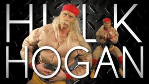 Hulk Hogan Title Card