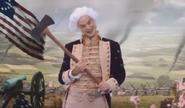 George Washington Interactive Ad Axe