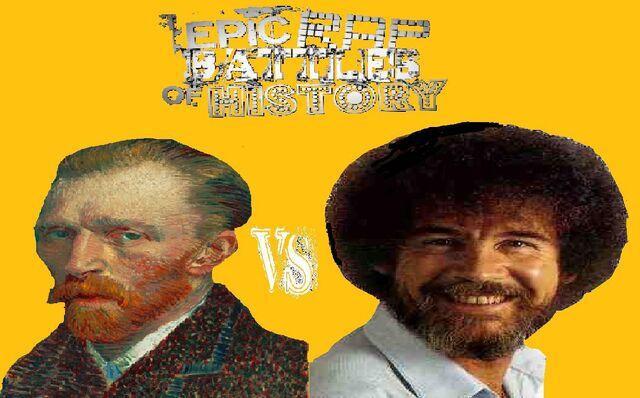 File:Vincent Van Gogh vs Bob Ross.jpeg