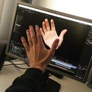 Nice Peter's grossly enlarge hand in After Effects