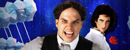 David Copperfield vs Harry Houdini Banner