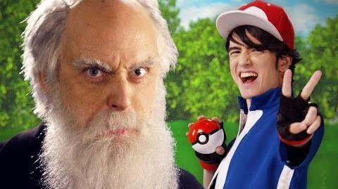 Ash Ketchum vs Charles Darwin. Epic Rap Battles of History