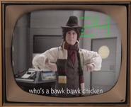 Bob Ross vs Pablo Picasso Fourth Doctor Cameo
