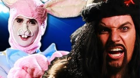 Genghis Khan vs Easter Bunny. Epic Rap Battles of History 8