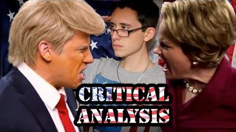 Critical Analysis Donald Trump vs Hillary Clinton. Epic Rap Battles of History