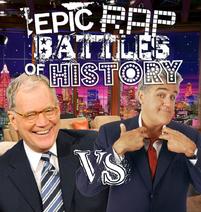 David Letterman vs Jay Leno cover