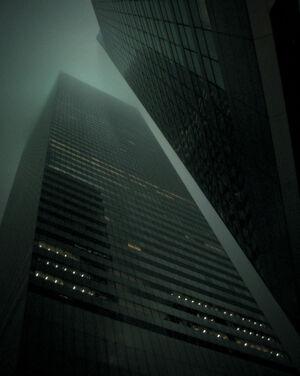 Gotham City Building Side Based On