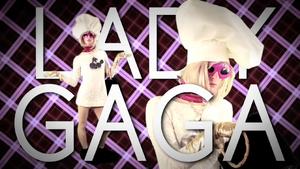 Lady Gaga TItle Card
