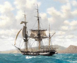 HMS Beagle Based On