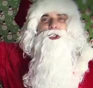 Santa Claus In Santa is a Gangsta