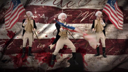 George Washington in YouTube Spot Commercial