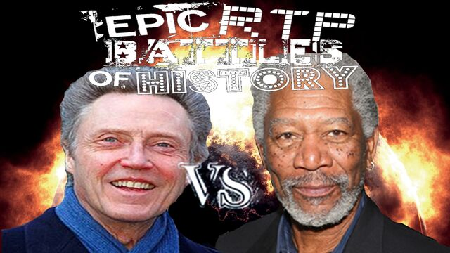 File:Morgan Freeman vs Christopher Walken. Epic RTP Battles of History Season 2 finale.jpg