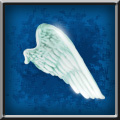 Material pegasus wing
