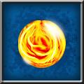 Material eternal fire