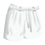 File:White Pleated Shorts.png
