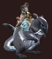 Dark Treeglider (Equipped)
