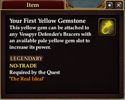 Your First Yellow Gemstone