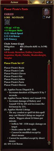 Planar Pirate's Pants
