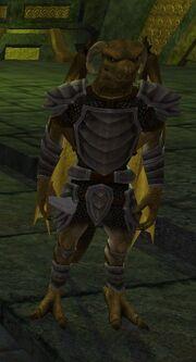 A Scaleborn warrior (Sanctum of the Scaleborn) (solo)