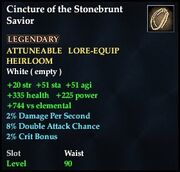 Cincture of the Stonebrunt Savior