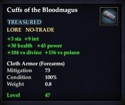 Cuffs of the Bloodmagus