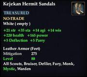 Kejekan Hermit Sandals