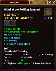 Wand of the Roiling Tempest