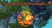 A rage-touched soullight