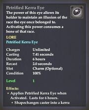 Petrified Kerra Eye