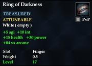 Ring of Darkness (Fallen Gate)