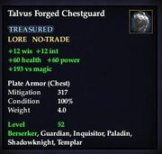 Talvus Forged Chestguard