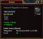 Infused Beguiler's Gloves