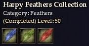 CQ feather harpy Journal