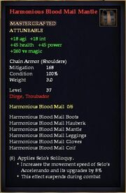 Harmonious Blood Mail Mantle