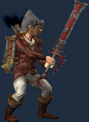 Hound's Tooth (Equipped)