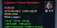 Captain's Cursed Spaulders