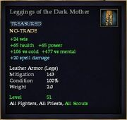 Leggings of the Dark Mother