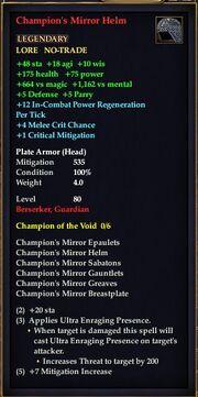 Champion's Mirror Helm