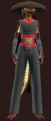 Jin Drake's Relentless Attack (Armor Set) (Visible, Female)