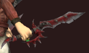 Primitive Bloodiron Dagger (Equipped)