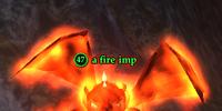 A fire imp