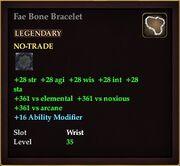 Fae Bone Bracelet