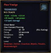 Pine Voulge