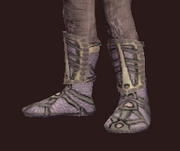 Thaumaturge's Copper-Threaded Shoes (Equipped)