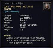 Lamp of the Djinn