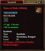 Tome of Holy Affinity